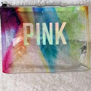 PINK VS clear bag